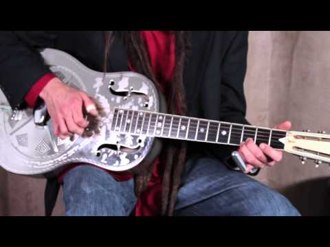 Acoustic Blues And Slide Guitar Lessons - Basic Fingerpicking Blues Vamp W Slide
