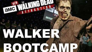 Making The Walking Dead Attraction - Walker Bootcamp