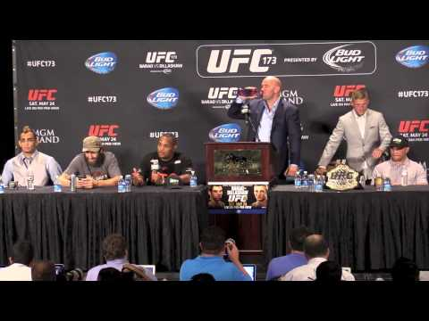 UFC 173 Post Press Conference