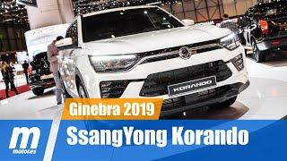 SsangYong Korando 2019 | SUV | Presentación | Ginebra 2019