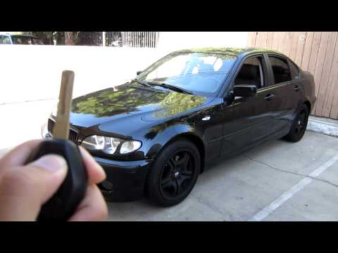 how to start bmw e46 without key