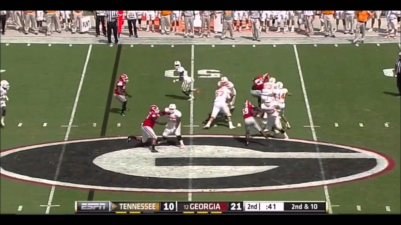 Jordan Jenkins vs Tennessee (2014)