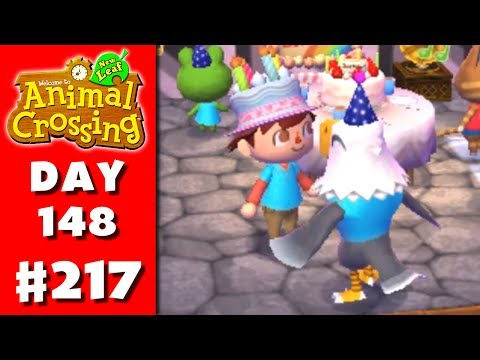Animal Crossing: New Leaf - Part 217 - My Birthday! (Nintendo 3DS Gameplay Walkthrough Day 148)