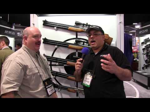 SHOT SHOW 2014 - Airgun Web interview with Air Venturi and the Sam Yang Big Bores