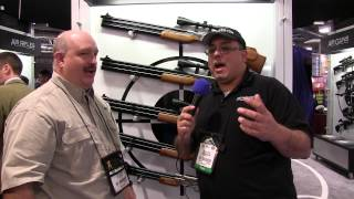 SHOT SHOW 2014 - Airgun Web interview with Air Venturi and the Seneca Big Bores