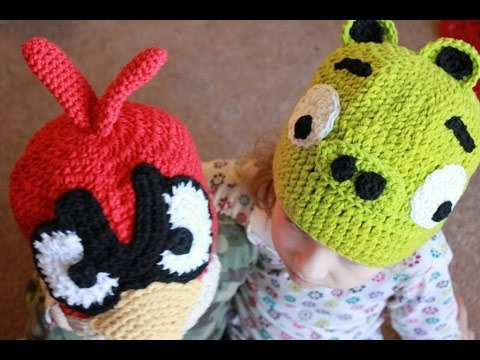 Angry Bird Cardinal Hat - Ravelry - a knit and crochet