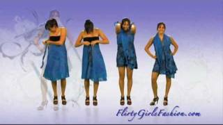 Magic wrap skirt How to Tie (part 1)