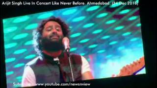 Arijit Singh Live Concert Ahmedabad 24 Dec 2016 Like Never Before Symphone Orchestra