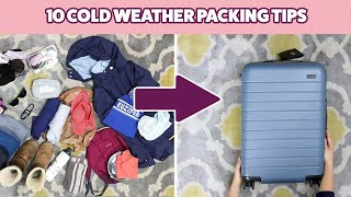 10 Cold Weather Packing Tips In A Carry-On