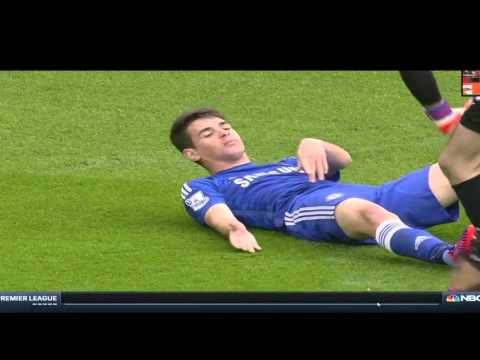 Ospina collision with Oscar 26-04-15