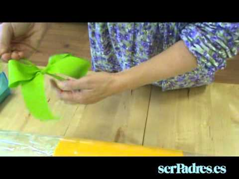 Regalos: cómo hacer un envoltorio de caramelo