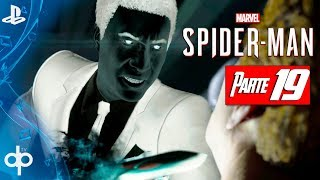 SPIDERMAN PS4 Parte 19 Spiderman vs Martin Li (Mister Negative) | Gameplay Español PS4 PRO