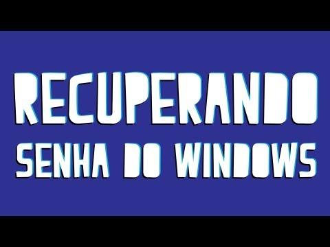 Como retirar (quebrar) senha de Administrador do Windows   Tut