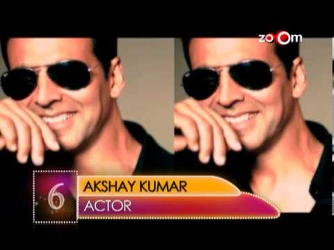 Akshay Kumar  Most Desirable Men at No.06