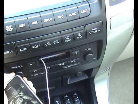 monster icarplay cassette adapter instructions