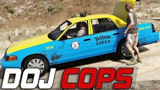 Dept. of Justice Cops #319 - The Taxi Ride (Criminal)
