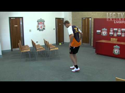 Henderson takes Keepy Uppy Challenge
