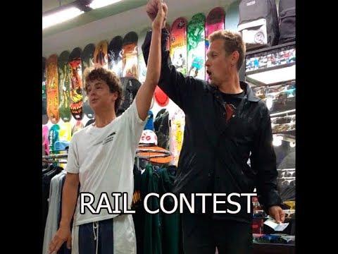 FLAT RAIL CONTEST |PICNIC SKATESHOP|