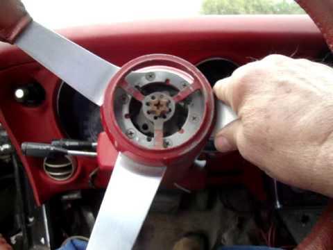 Fixing telescoping steering wheel on a 77 corvette