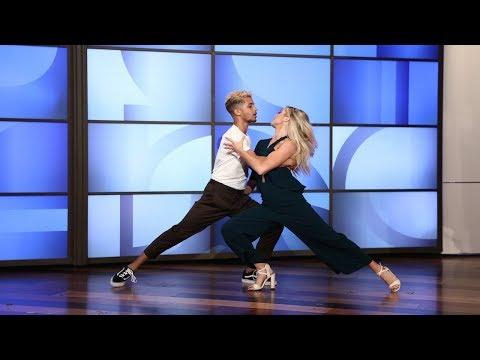 download lagu Jordan Fisher & His `dwts` Pro Partner Lindsay Perform gratis