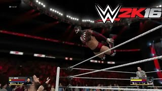 WWE 2K16 - Finn Balor vs Kevin Owens and NEW OMG