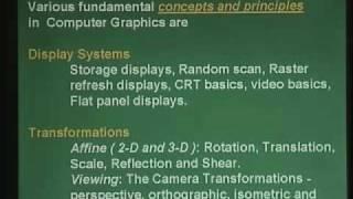 Computer Sc - Computer Graphics