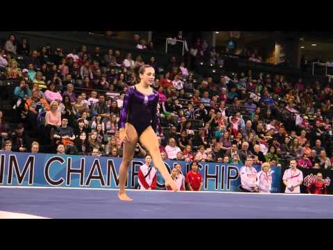 Amelia Hundley - Floor Exercise Finals - 2012 Kellogg&#039;s Pacific Rim Championships