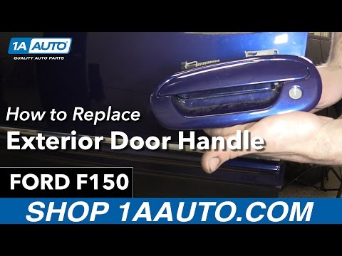 How to Replace Install Exterior Door Handle 98 Ford F150 Buy Quality Auto Parts at 1AAuto.com