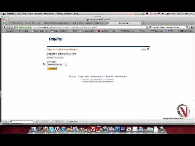 Setting Up API for Express Checkout on Paypal