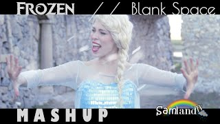 a FROZEN Blank Space - Taylor Swift Disney Style