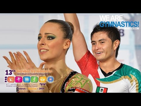 Highlights - 2014 Aerobic Worlds, Cancun (mex) - Individual Men And Women - We Are Gymnastics! video