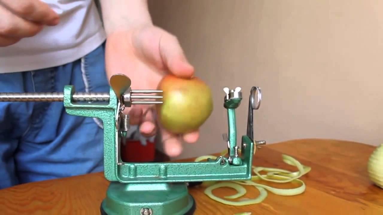 Приспособление для резки яблок на сушку своими руками 41