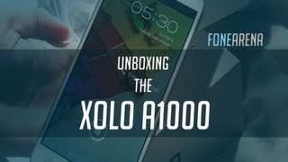 XOLO A1000 Unboxing
