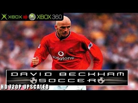 David Beckham Soccer - Gameplay Xbox HD 720P (Xbox to Xbox 360)