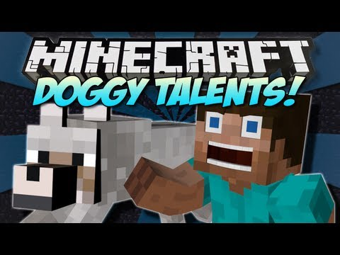 Minecraft | DOGGY TALENTS! (Over 20 Tricks!) | Mod Showcase [1.5.1]