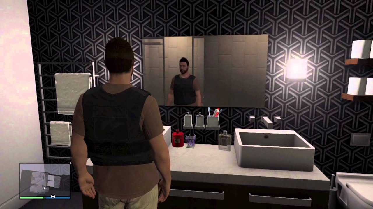 Gta 5 Online Buying A Apartment And Showing The Inside