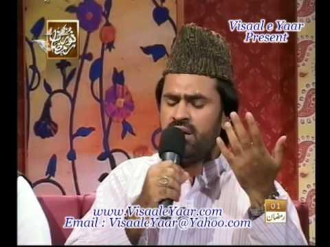 Urdu Naat(pur Kaif Nazaron Ko)syed Zabeeb Masood.by Visaal video