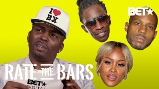 Drag-On Is A Bit Bothered By The Game's Bars & Rates Ruff Ryders' DMX, Eve, & More | Rate The Bars