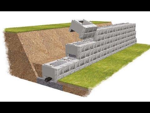 Обустройство участка на склоне – дорожки и подпорные стенки своими руками