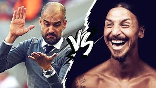 The legendary clash between Zlatan and Guardiola - Oh My Goal