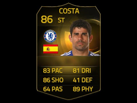FIFA 15 IF DIEGO COSTA 86 Player Review & In Game Stats Ultimate Team