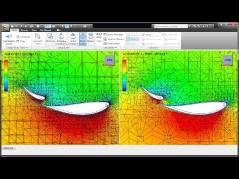 Autodesk Simulation CFD 2013 - Adaptive Mesh Technology