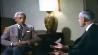 Jiddu Krishnamurti & Prof. Huston Smith - Most of us are not serious at all