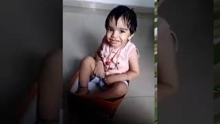 Cute baby - Vajra packed in shoe box 👶😁😁