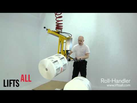 Roll-Handler - Lifting rolls / Lyfta rullar - Lifts All AB
