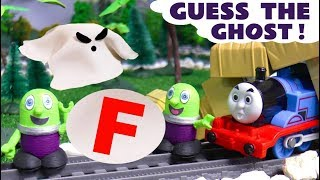 Thomas The Tank Engine Guess The Ghost - Learn letters game with the Funny Funlings TT4U