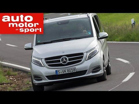Fahrbericht Mercedes V 250 Bluetec