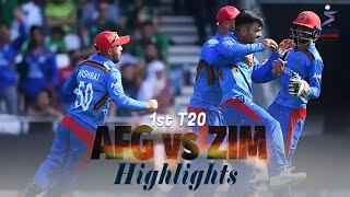Afghanistan vs Zimbabwe Highlights | 1st T20 | Afghanistan vs Zimbabwe in UAE 2021