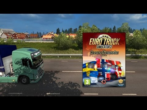 ETS 2 - Scandinavia DLC - Fan-made trailer [60 FPS]