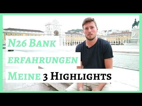 N26 Erfahrungen - Meine 3 Highlights mit dem digitalen Konto